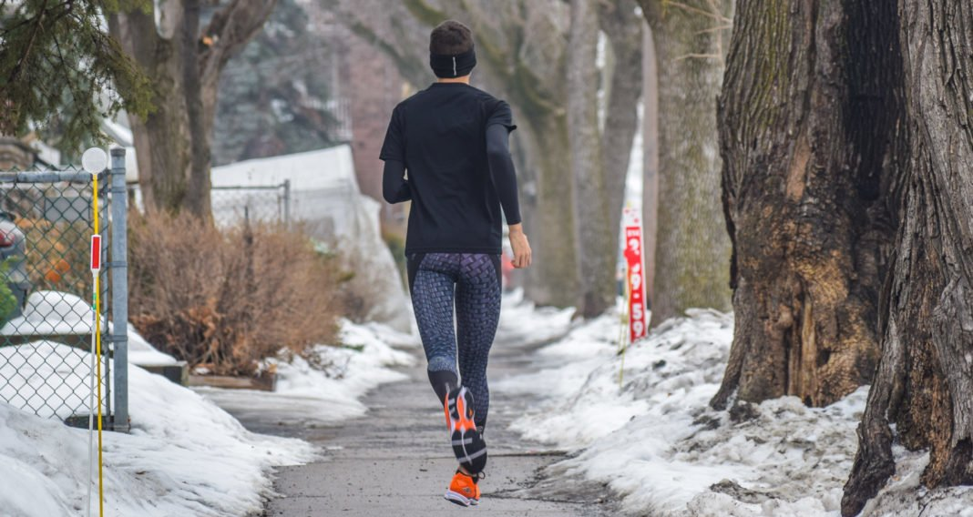 running homme hiver